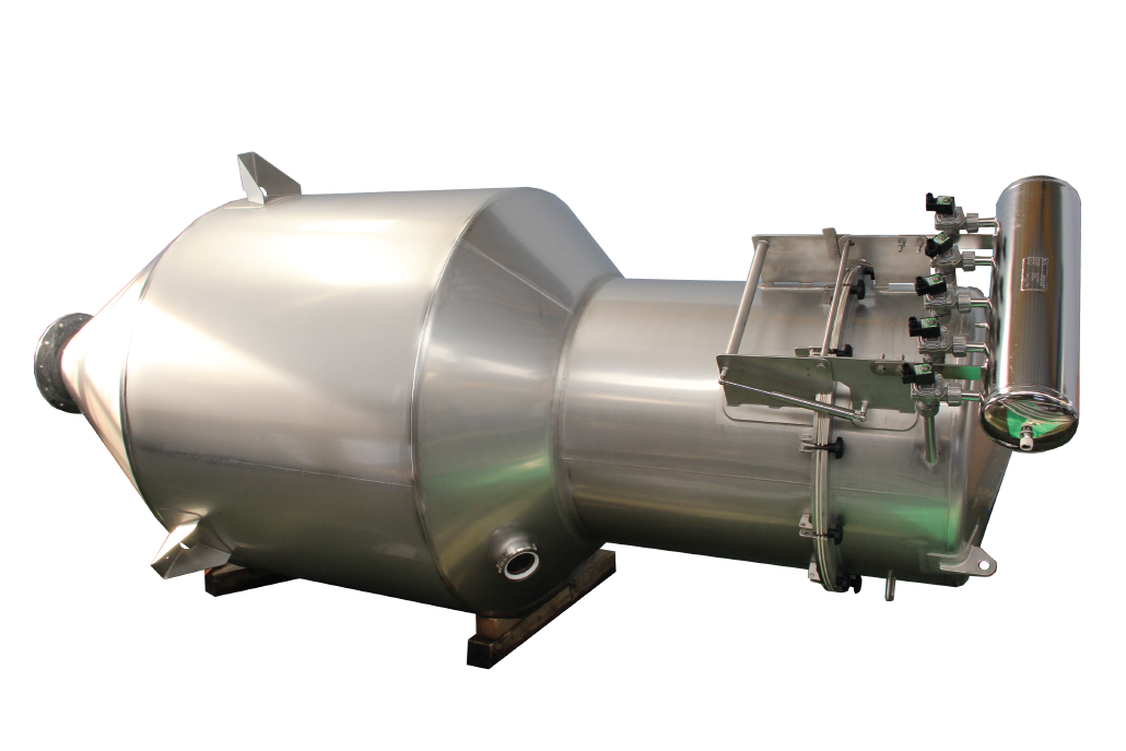 Hoang Lam stainless steel hoppers